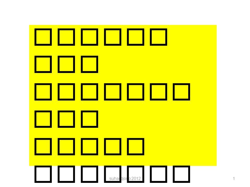 Kerangka Isi : Bab 5 Kesimpulan dan Saran suhardjono 201242 5.1.