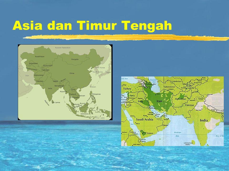 Asia dan Timur Tengah