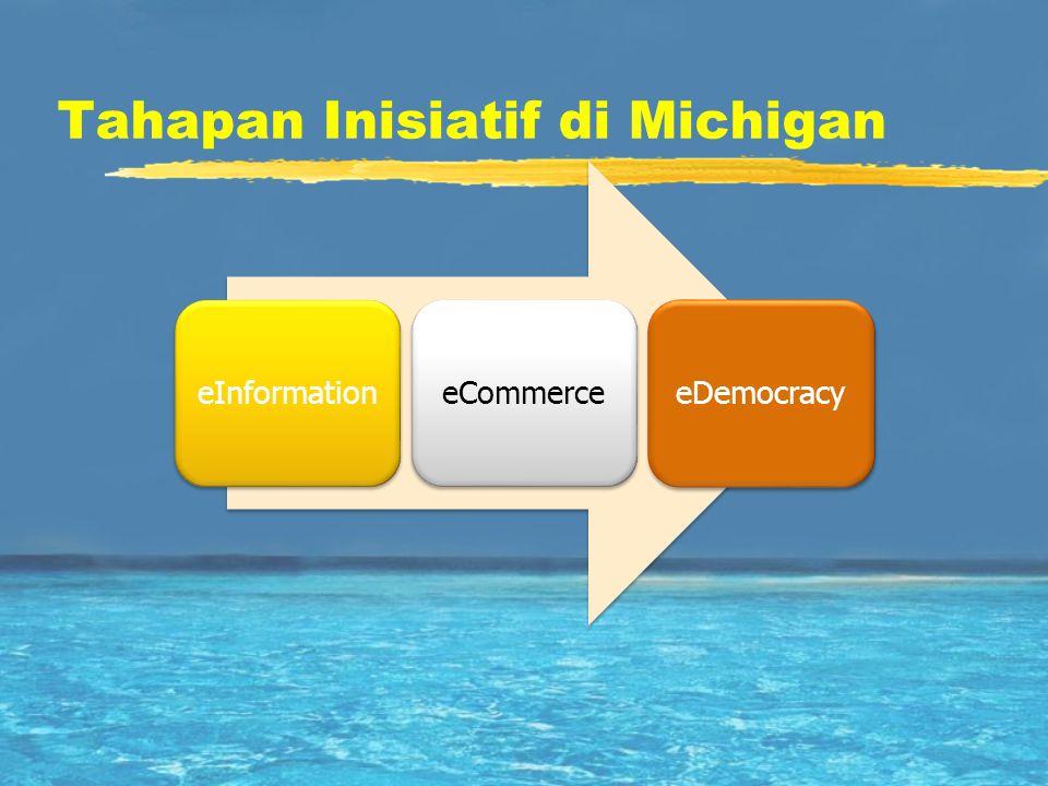 Tahapan Inisiatif di Michigan eInformationeCommerceeDemocracy