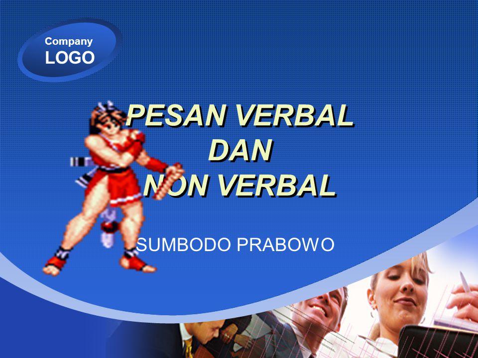 Company LOGO PESAN VERBAL DAN NON VERBAL SUMBODO PRABOWO