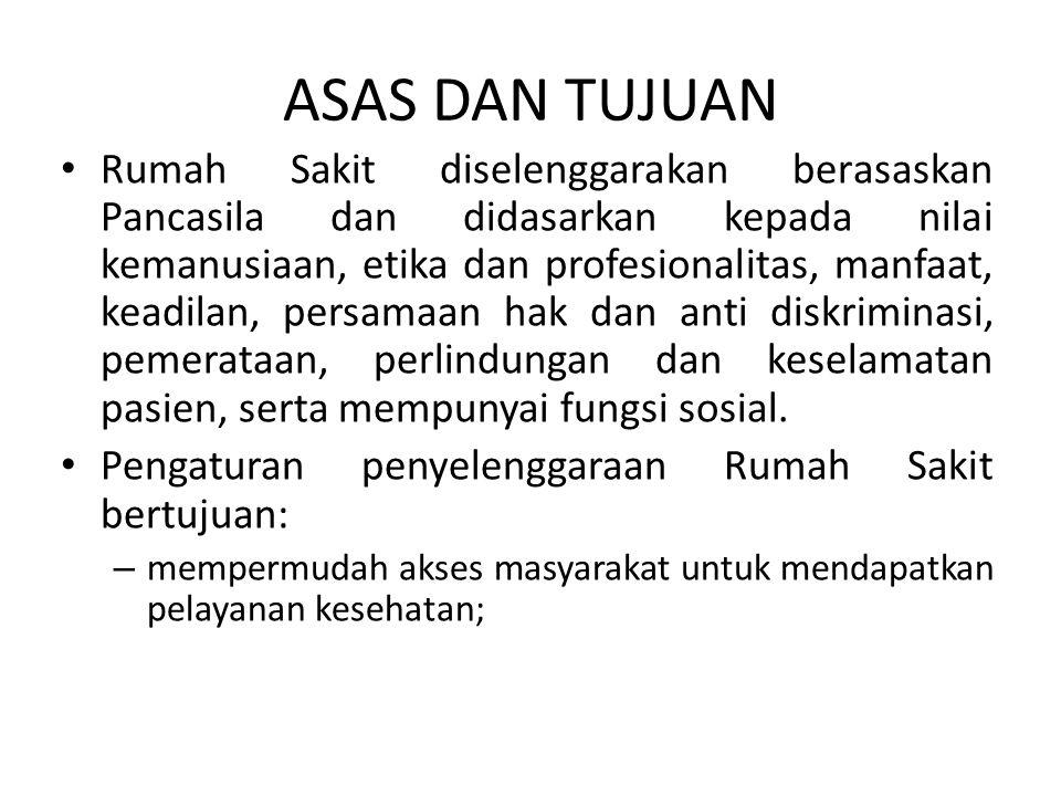 Pasal 61 Ketentuan lebih lanjut mengenai Badan Pengawas Rumah Sakit Indonesia dan Badan Pengawas Rumah Sakit Provinsi diatur dengan Peraturan Pemerintah.