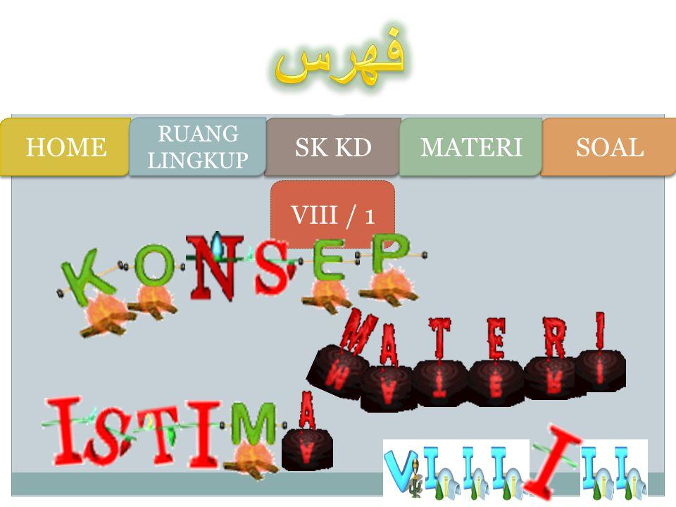 Ini dia Ruang Lingkupnya !! Ruang lingkup pelajaran Bahasa Arab di Madrasah Tsanawiyah meliputi tema-tema yang berupa wacana lisan dan tulisan berbent