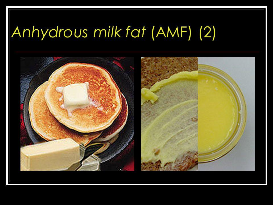 Perbandingan liquid-to-solid untuk sampel teremulsi PKO: Palm kernel oil AMF: Anhydrous milk fat