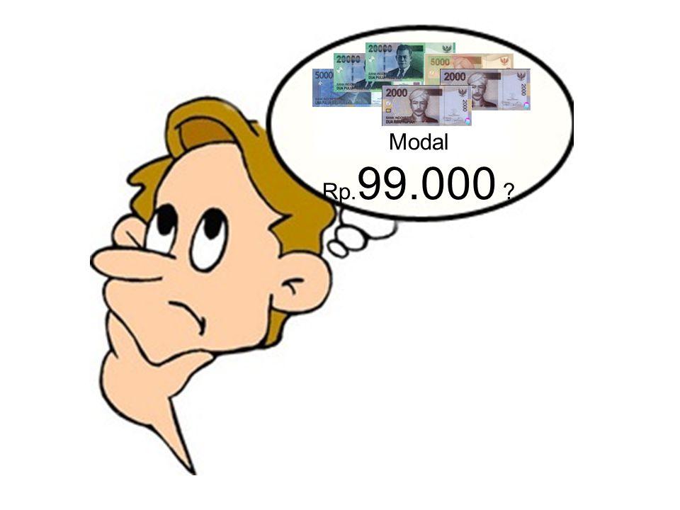 a2 a3 a1 kirikanan Rp.1.000.000/hari = Rp 30.000.000/bulan Rp.1.000.000/hari Rp 30.000.000/bulan kirikanan kiri kanan Rp.1.000.000/hari Rp 30.000.000/bulan Rp 90.000.000 /bulan