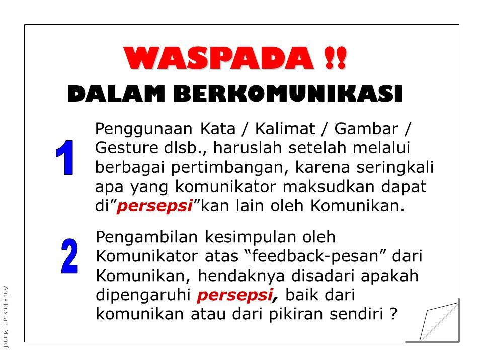 WASPADA !.
