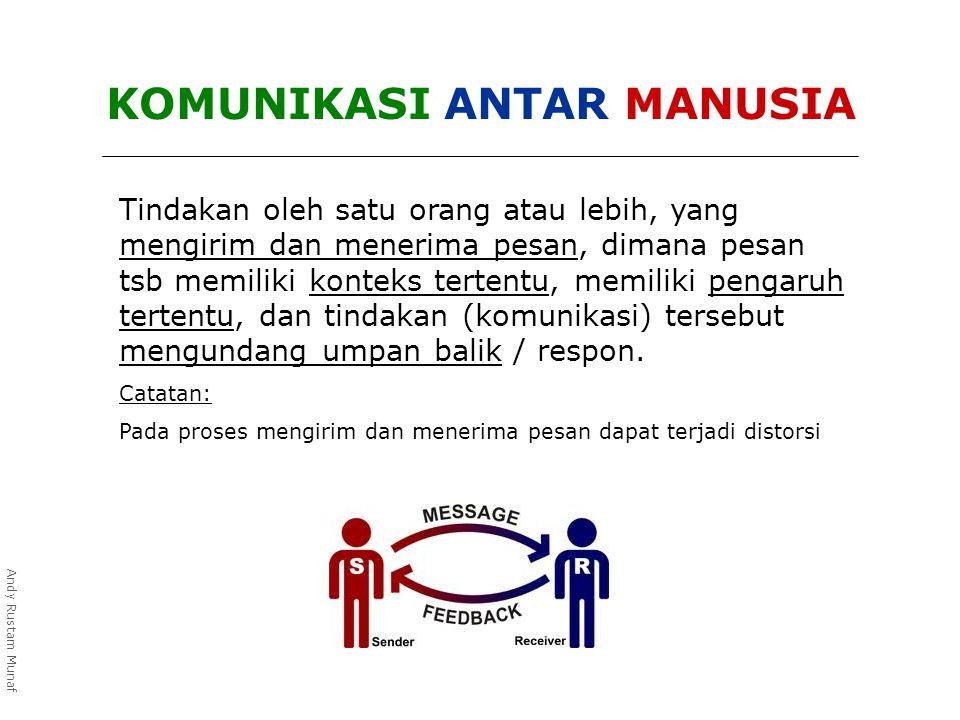 PERSEPSI adalah NOISE yang paling berbahaya dalam berkomunikasi.