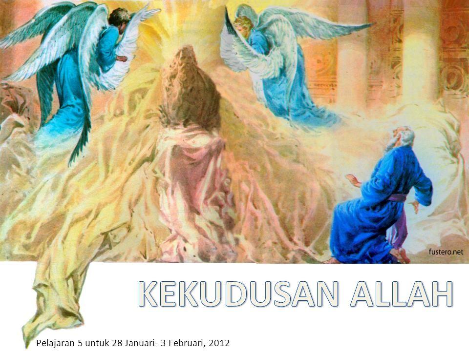Pelajaran 5 untuk 28 Januari- 3 Februari, 2012