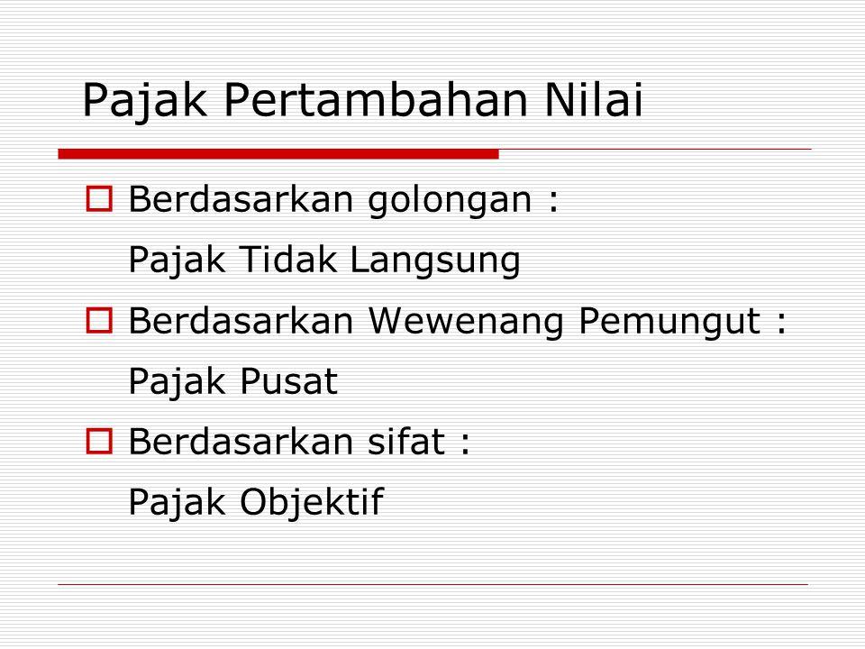 Objek PPN  Penyerahan Barang Kena Pajak di dalam Daerah Pabean yang dilakukan oleh Pengusaha.