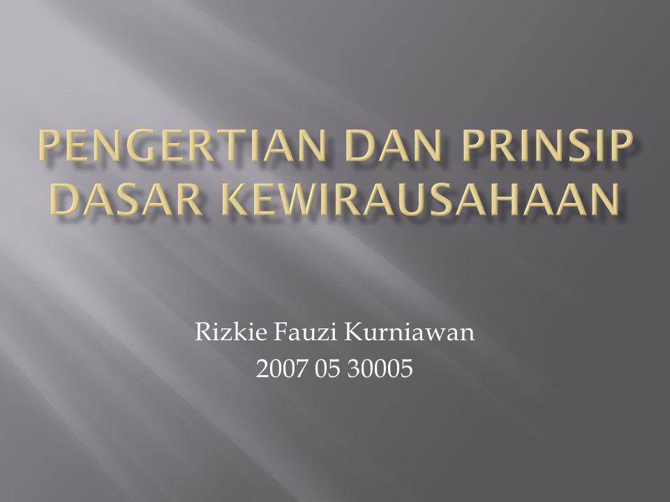 Rizkie Fauzi Kurniawan 2007 05 30005
