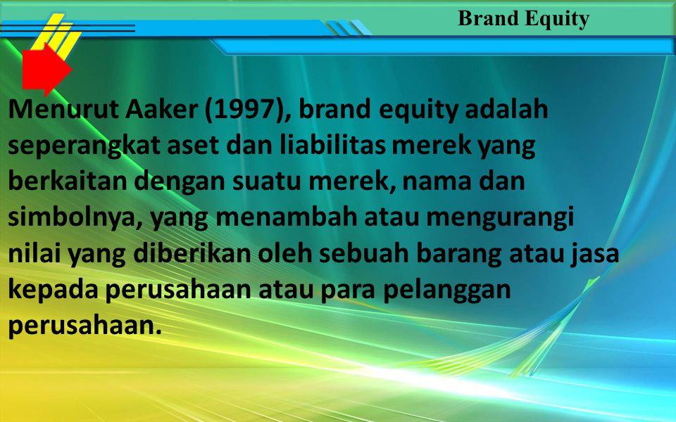 American Marketing Association mendefinisikan brand sebagai nama, tanda, simbol, rancangan, atau kombinasi dari hal-hal tersebut, yang dimaksudkan untuk mengidentifikasi barang atau jasa dari seseorang atau sekelompok penjual dan untuk membedakannya dari produk pesaing (Kotler, 2002: 460).