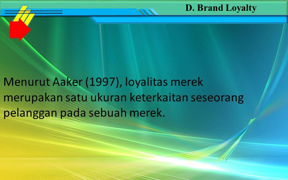 Manfaat yang diberikan perceived quality (Darmadi.D, Sugiarto, Tony Sitinjak, 2001: 101) Alasan membeli Perluasan Merek (brand extension) Minat saluran distribusi Diferensiasi dan pemosisian produk Harga optimum
