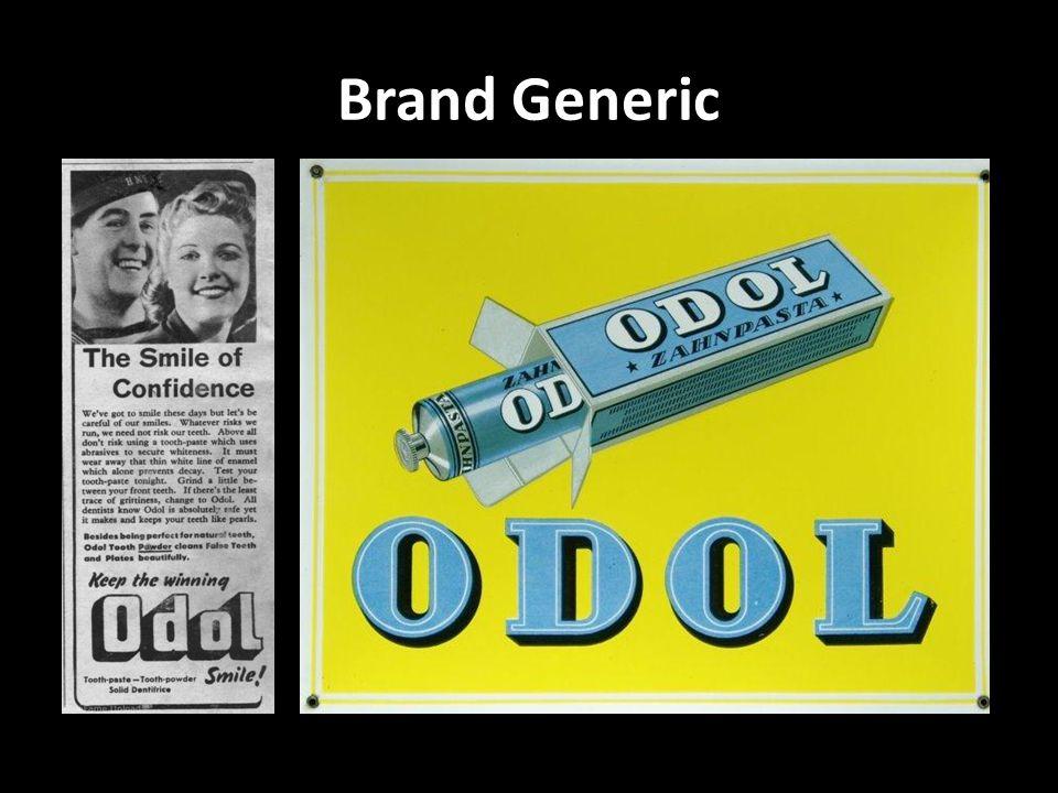 Brand Generic