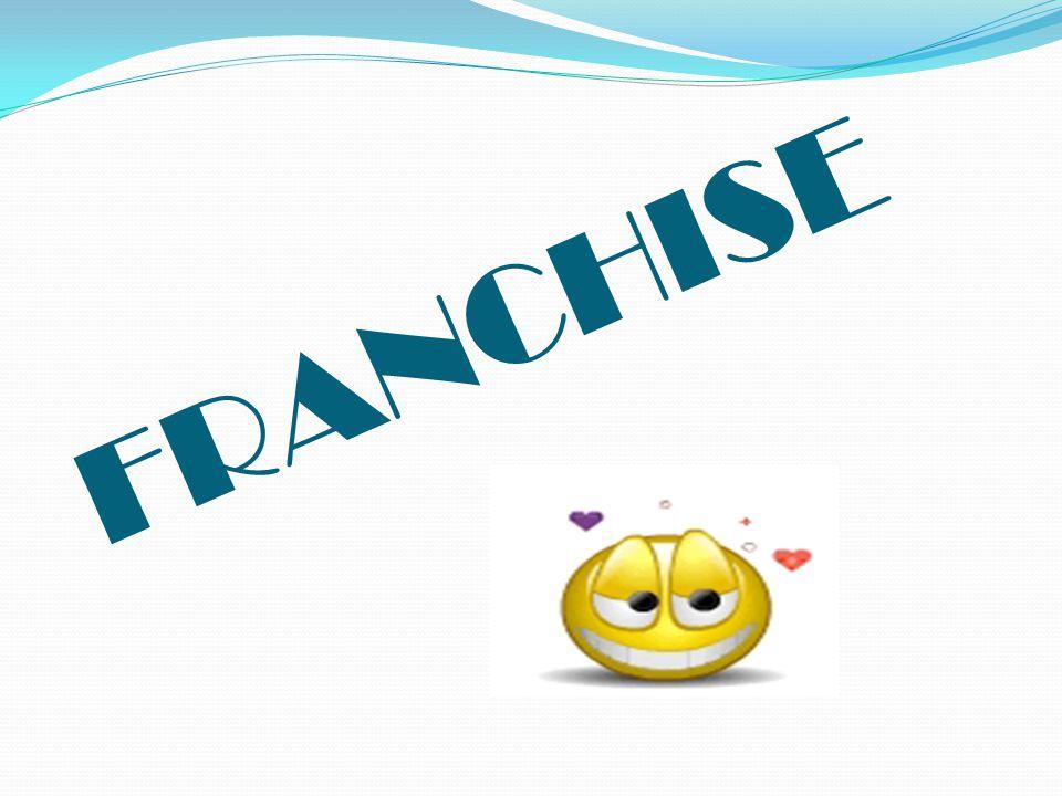 Sejarah FRANCHISE Franchise sendiri berasal dari bahasa latin yakni francorum rex yang artinya bebas dari ikatan , yang mengacu pada kebebasan untuk memiliki hak usaha.