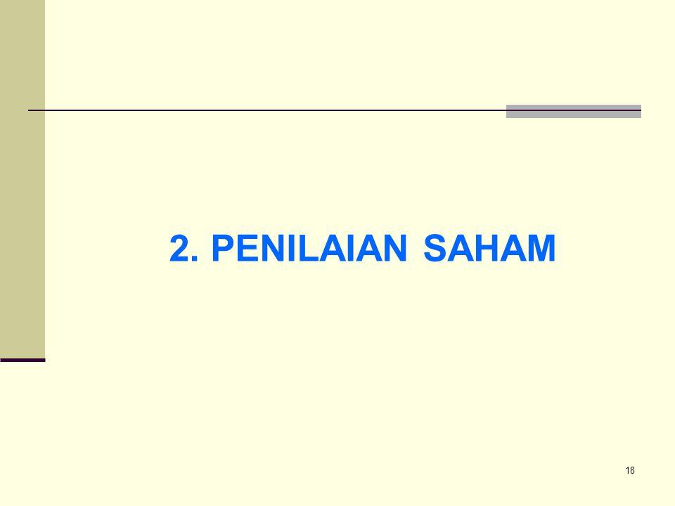 18 2. PENILAIAN SAHAM