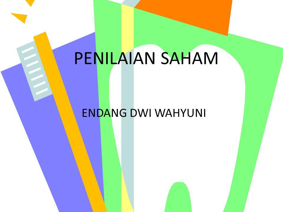 PENILAIAN SAHAM ENDANG DWI WAHYUNI
