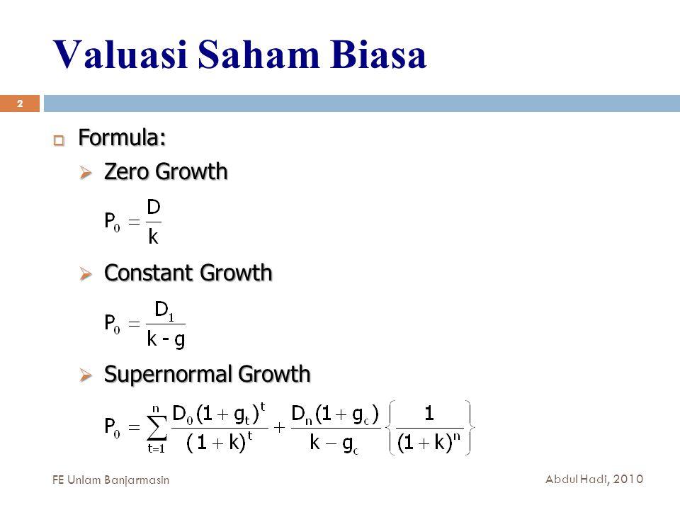 KEEP YOUR SPRIT TO LEARN MORE 13 FE Unlam Banjarmasin Abdul Hadi, 2010