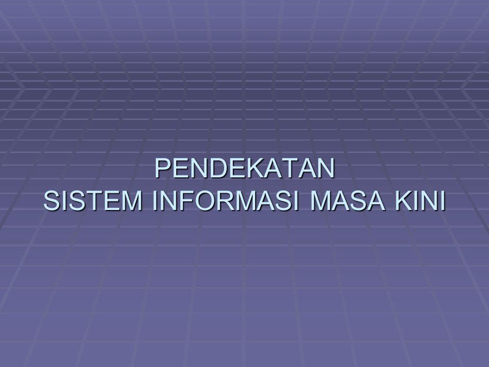  Perspektif ganda pada sistem informasi menunjukkan bahwa studi sistem informasi (SI) merupakan bidang bahwa studi sistem informasi (SI) merupakan bidang yang multi disiplin.