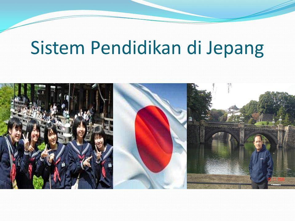 Sistem Pendidikan di Jepang