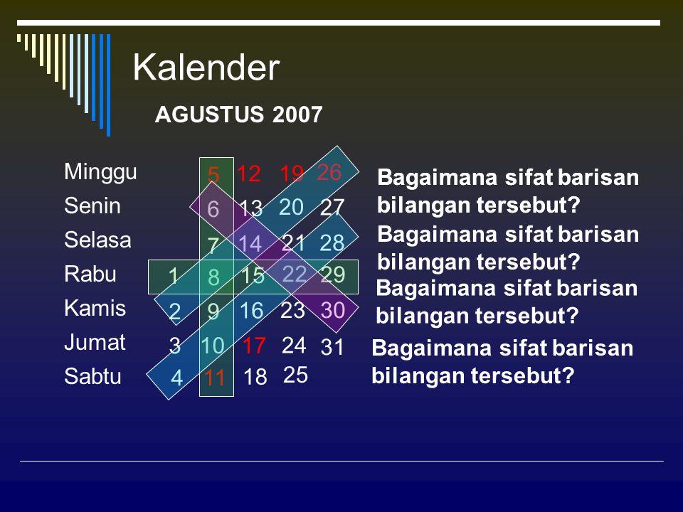BILANGAN PERSEGIPANJANG Barisan Bilangan Genap: Deret Bilangan Genap: 2, 4, 6, 8, 10, 12, … 2 + 4 + 6 + 8 + 10 + 12 + … 2+42+4+62+4+6+8 2+4+6+8+10 2 612 20 30 12122  33  4 4  5 5  6 Barisan Bilangan Persegipanjang adalah: 2, 6, 12, 20, 30, … atau 1  2, 2  3, 3  4, 4  5, 5  6, … 2+42+4+6 2 Jadi: 2 2+4+6+8 Jumlah n suku pertama Deret Bilangan Asli Genap: 2+4+6+8+10 + … adalah n(n + 1)