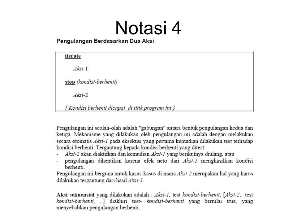 Notasi 4