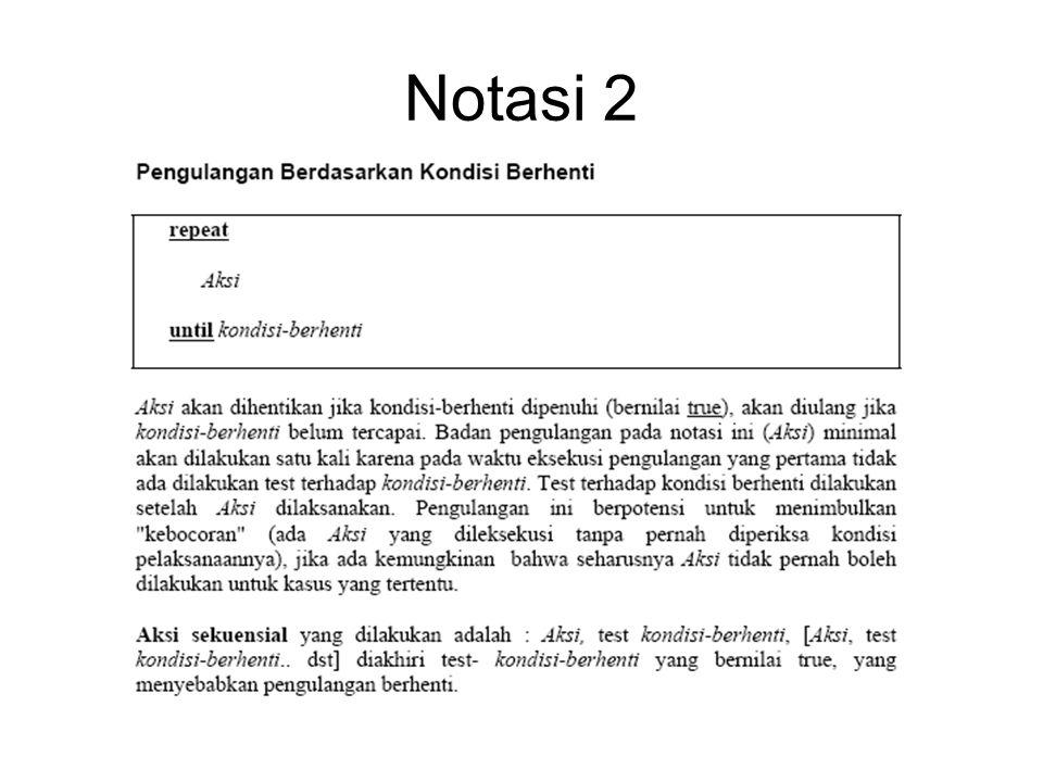 Notasi 2