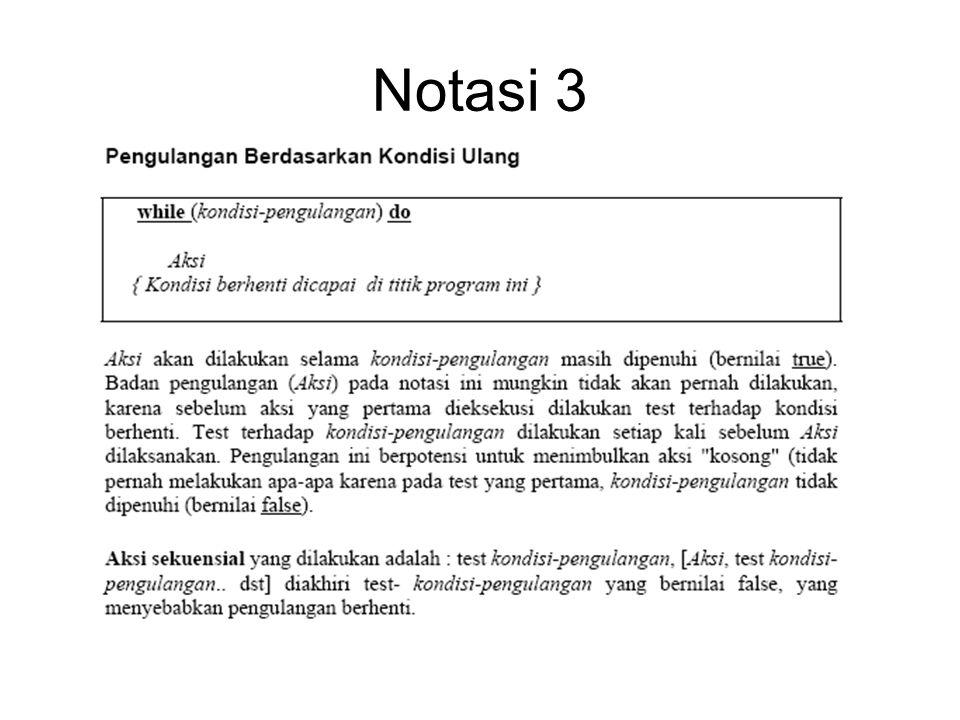 Notasi 3