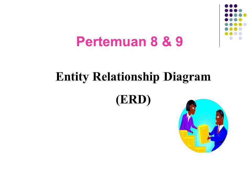 Pertemuan 8 & 9 Entity Relationship Diagram (ERD)
