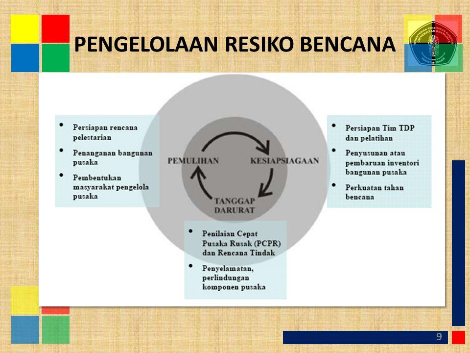 PENGELOLAAN RESIKO BENCANA 9