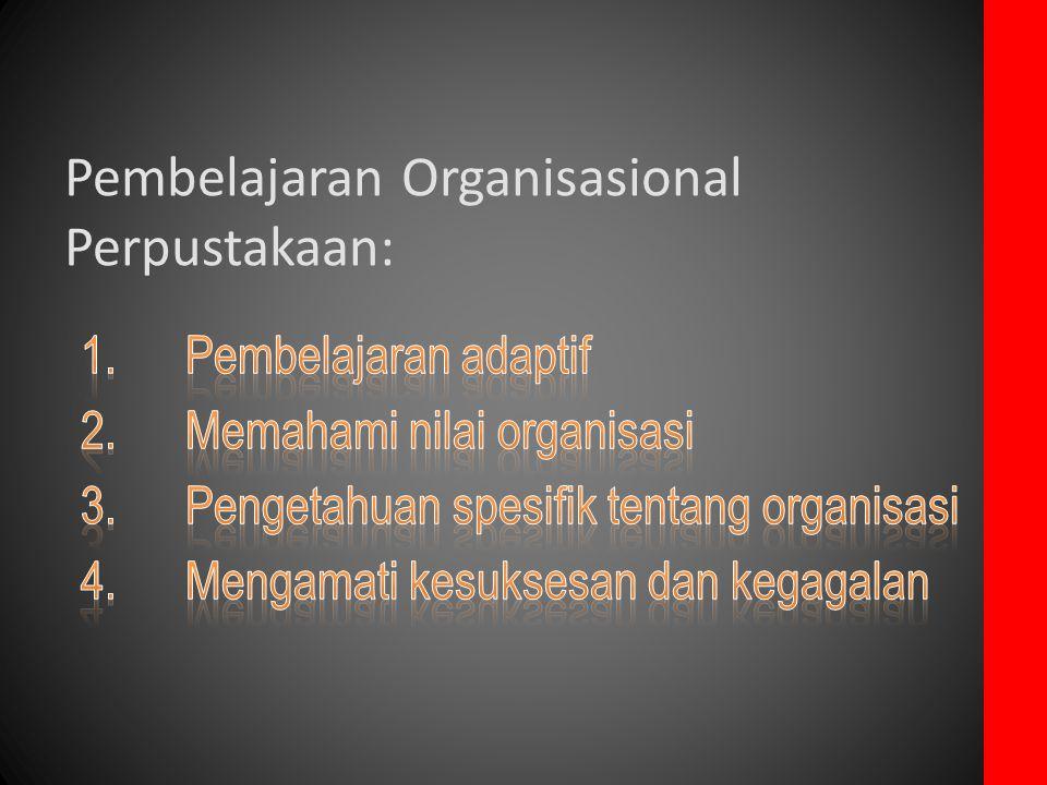 Pembelajaran Organisasional Perpustakaan: