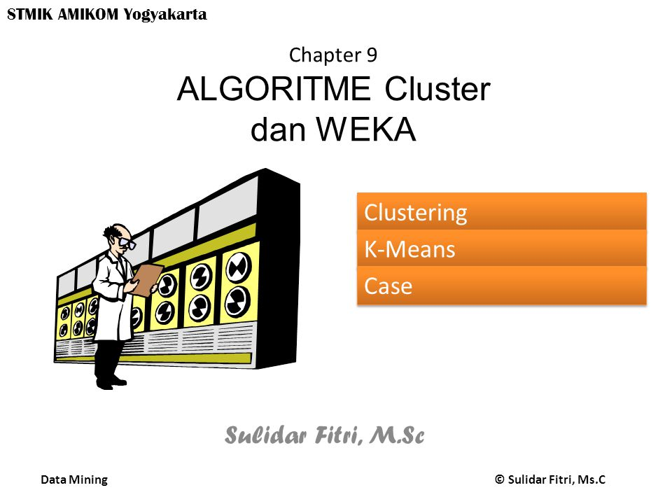 Data Mining © Sulidar Fitri, Ms.C