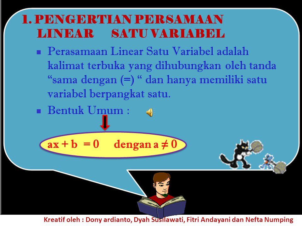 Kalimat terbuka adalah kalimat yan belum dapat ditentukan benar atau salah. Kalimat-kalimat di bawah ini merupakan contoh kalimat terbuka. 1.X ada kel