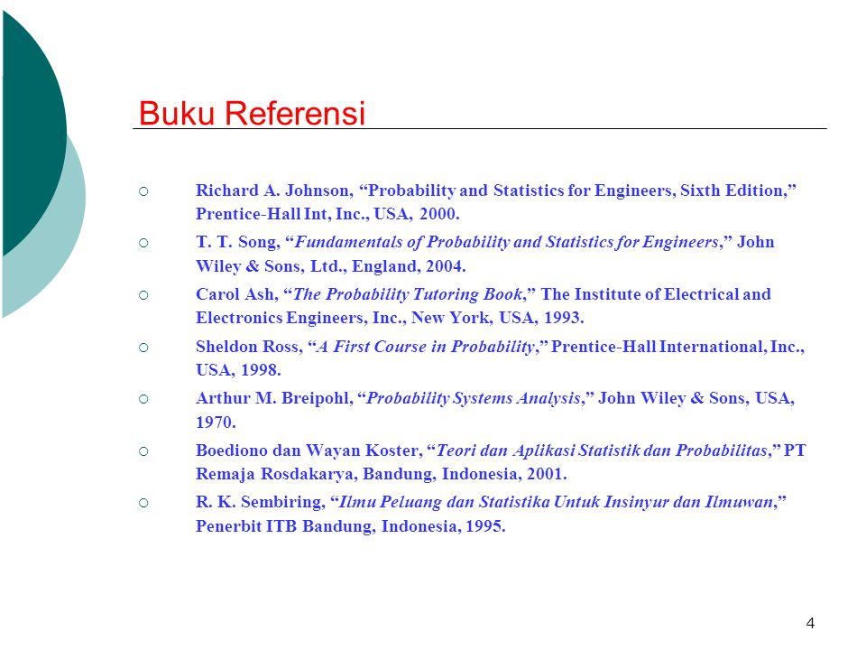 15 3.Pengumpulan Data dan Pengukuran (Con't)  Pengukuran a.