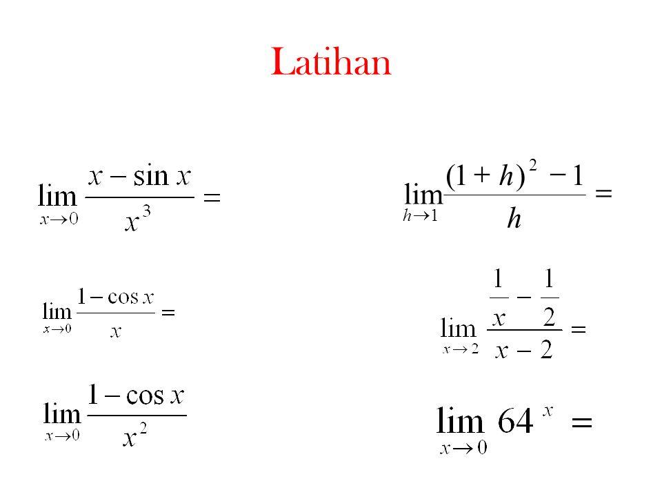    h h lim h 1)1( 2 1