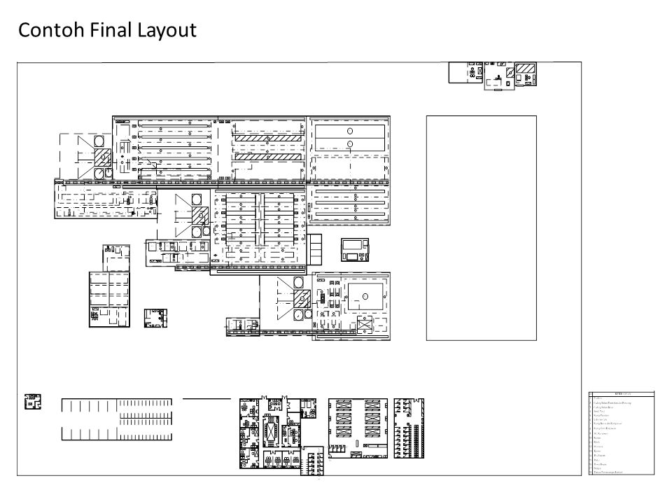 Contoh Final Layout