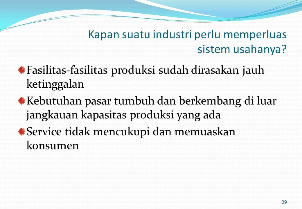 Pemilihan Lokasi Pabrik dengan Metode Kualitatif (3) 3.