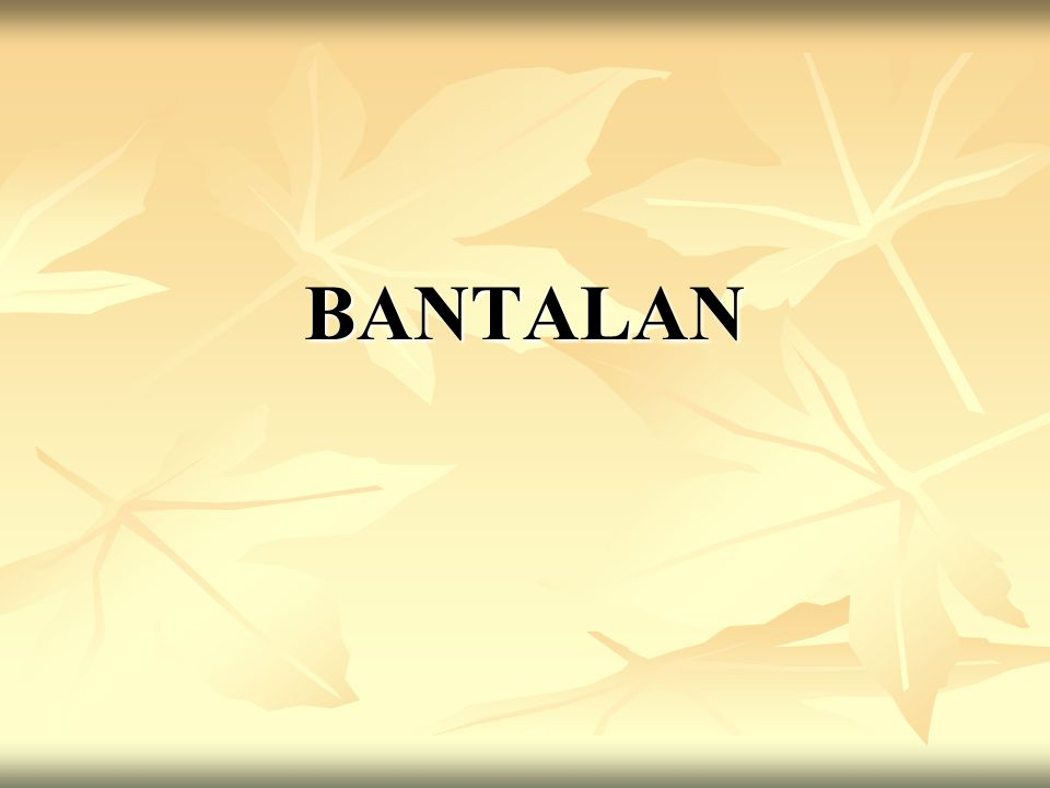 BANTALAN