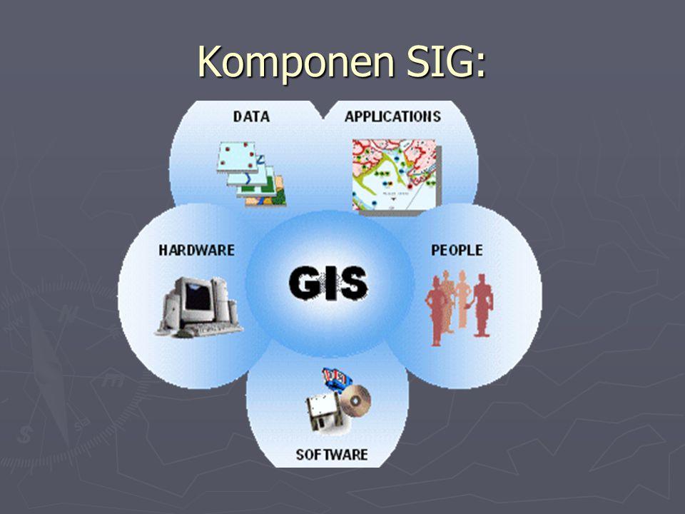 Komponen SIG: