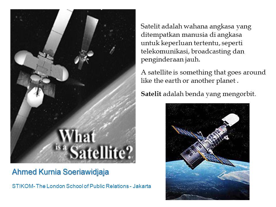 Satelit adalah benda yang mengorbit.