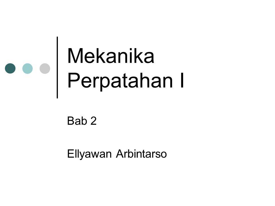 Mekanika Perpatahan I Bab 2 Ellyawan Arbintarso