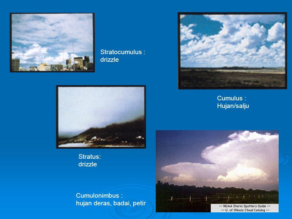 Kabut Kabut adalah awan yang ada di permukaan.