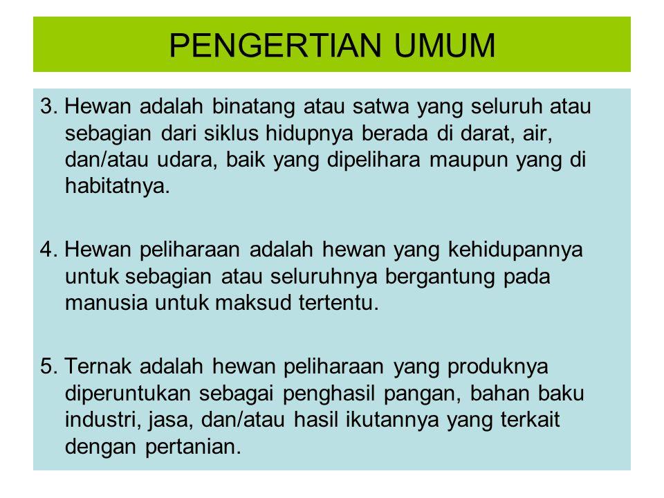PENGERTIAN UMUM 6.