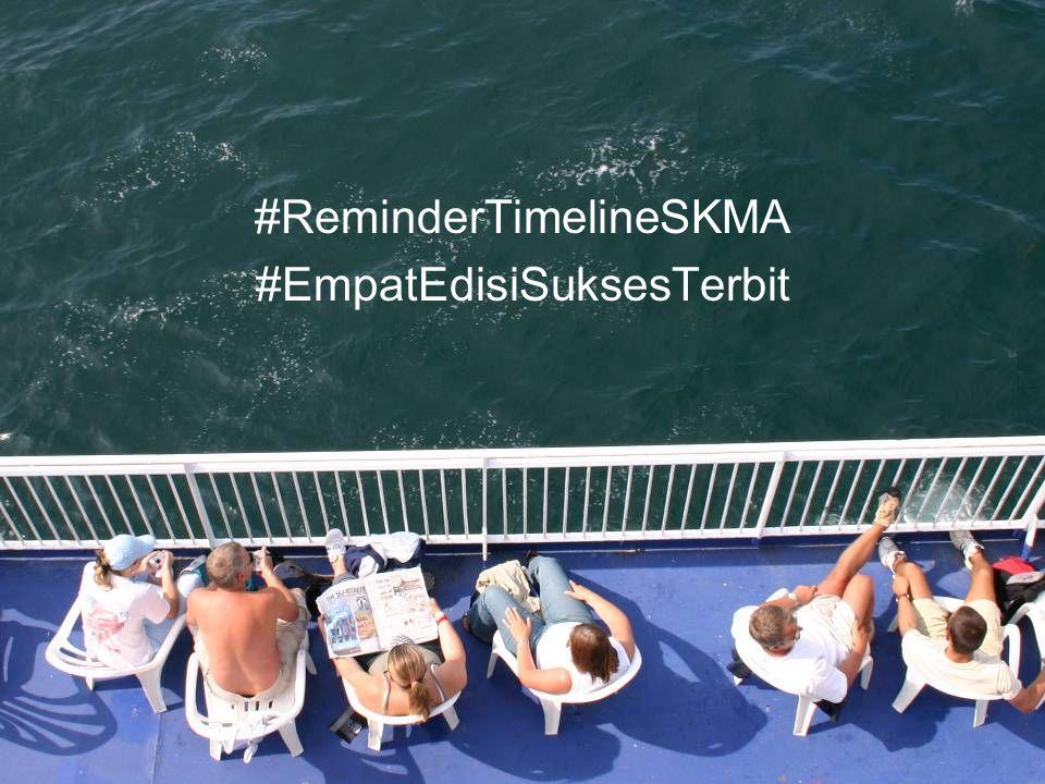 #ReminderTimelineSKMA #EmpatEdisiSuksesTerbit