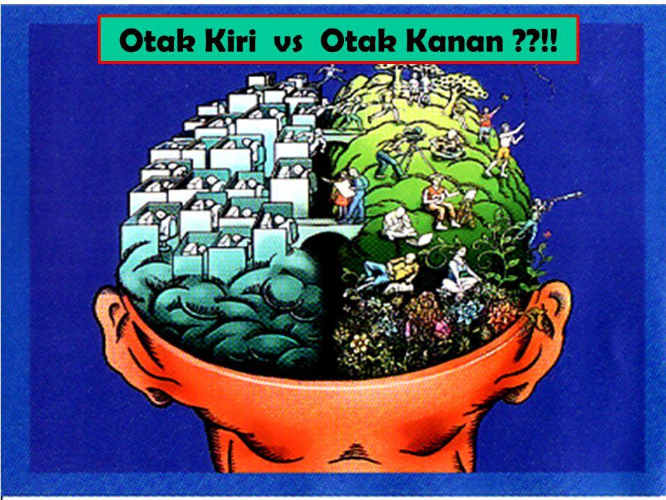 Otak Kiri vs Otak Kanan ??!!