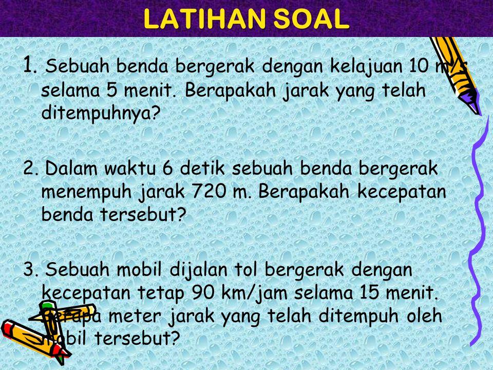 LATIHAN SOAL 4.