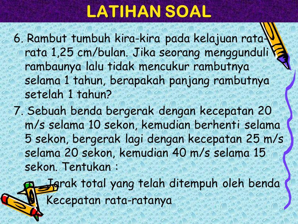 LATIHAN SOAL 8.