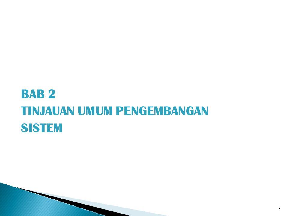 1.Perlunya Pengembangan Sistem 2. Prinsip Pengembangan Sistem 3.