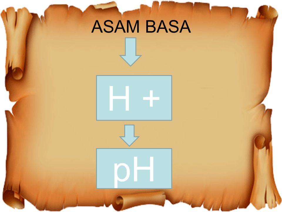 ASAM BASA H + pH