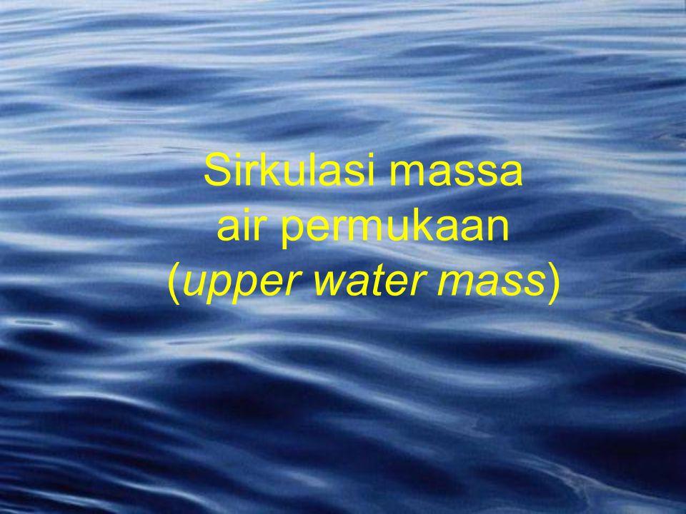 Sirkulasi massa air permukaan (upper water mass)