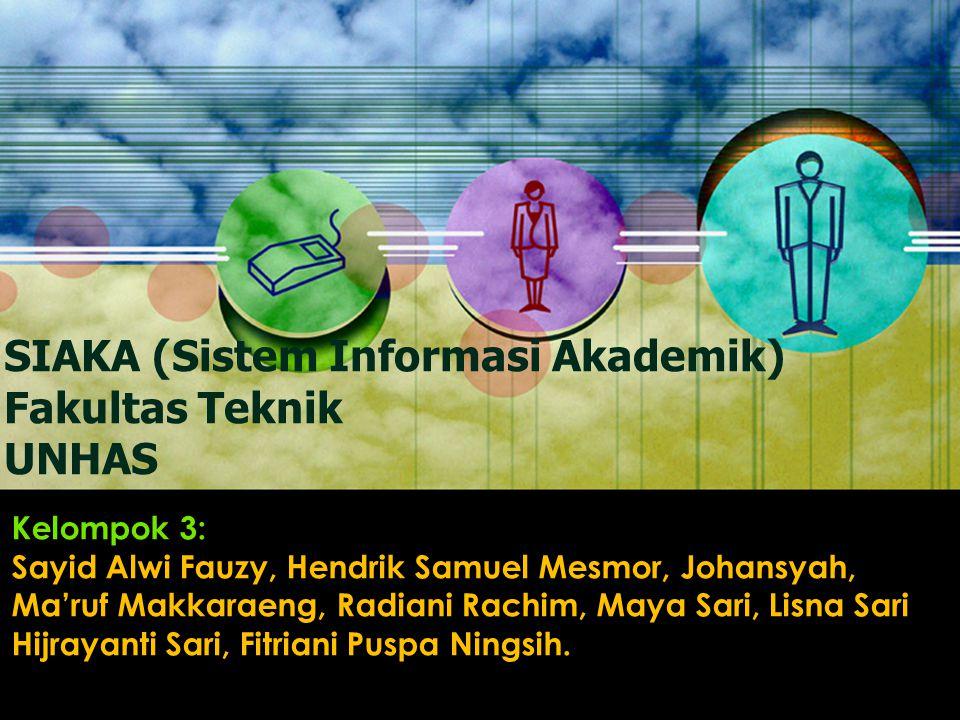 Kelompok 3: Sayid Alwi Fauzy, Hendrik Samuel Mesmor, Johansyah, Ma'ruf Makkaraeng, Radiani Rachim, Maya Sari, Lisna Sari Hijrayanti Sari, Fitriani Puspa Ningsih.