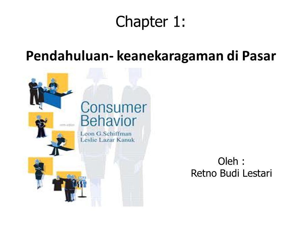 Chapter 1: Pendahuluan- keanekaragaman di Pasar Oleh : Retno Budi Lestari